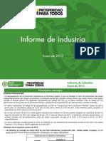 2013 Industria Enero