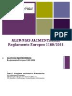 Alergias Alimentarias RD 1169