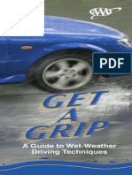 AAA Wet Road Driving Tips