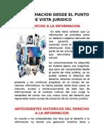 9.-La Informacion Desde El Punto de Vista Juridico