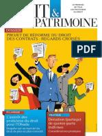 Une Droit & Patrimoine n° 247 Mai 2015