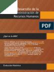 Origen y Desarrollo de La Administración de Recursos