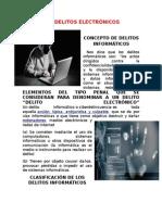 16.-Los Delitos Electrónicos