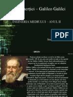 Teoria Iner Iei Galileo Galilei