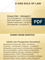 Konstitusi Dan Rule of Law Fix