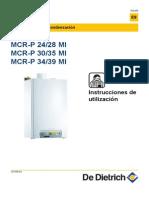 Manual Instrucciones Caldera Gas - De Dietri Mcr 30-35 Mi - Not-127938-001-Aa