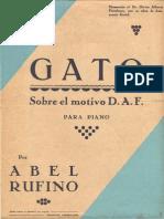 Abel Rufino - Gato Sobre El Motivo D.A.F.
