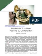 Postone Ou Castoriadis Par Bernard Pasobrola