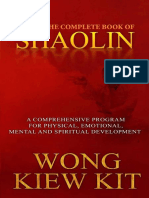 The Complete Book of Shaolin by Wong Kiew Kit.epub