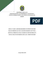 Edital 01-2015 - Profuncionario- IFS