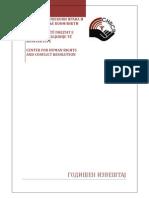 Chrcr Report 2013