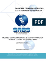 Documentos Base de Contratacion de Obras