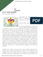Mensagem Do Papa Francisco Para Quaresma 2015 - Texto Integral