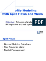 13 Split Flow and Weirs
