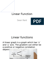 linear function and quadratic functions