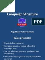 campaign structure- rvi
