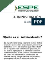 El.administrador