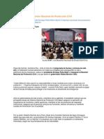 14-05-2015 Puebla Noticias - Asiste RMV a La Reunión Nacional de Protección Civil