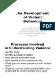 The Development of Violent Behaviors; Class 3
