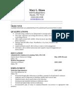 Mary's Resume Final2
