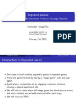 Lecture 7 - Repeated Games