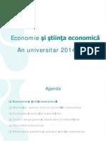 1_economie Si Stiinta Ec vs - Geod&CFDP
