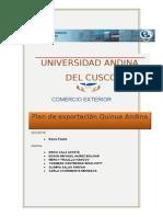 Plan de Exportacion Quinua Ultimo