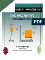 01a - Dinámica de Estructurras 1 GDL