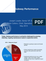 Subway Delay Presentation