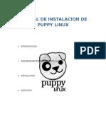 Paso a Paso Instalacion de Puppy Linux