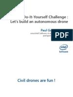 IntelAcademic DIY 01 Autonomous Drone