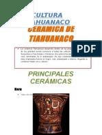 Ceramica de Tiahuanaco
