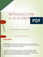 Introducción a La Economia i Para Microeconomia