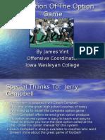 Iowa Wesleyan College - Installation of the Option Game