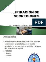 Aspiracion de Secreciones Unc 2015