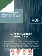 La Personalidad Neurotica de Nuestros Tiempos