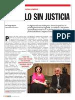 Un siglo sin justicia