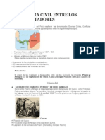 La Guerra Civil Entre Los Conquistadores