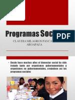 Programas Sociales Del Perú