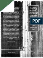 As Lendas Da Criação e Destruição Do Mundo - Nimuendaju PDF