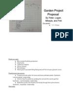 gardenprojectproposal
