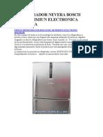 Refrigerador Nevera Bosch Ksu 40 Primiun Electronica Diagrama