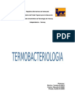Termobacteriologia