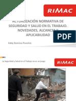 PICLima Actualizaci n Normativa de Seguridad y Salud en El Trabajo