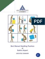 Manual Handling Exec Summary