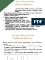 PPT Distribusi Normal dan Distribusi Student.pptx