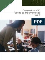 Competências TIC. Estudo de Implementação. Vol.1
