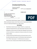 BANKERS STANDARD INSURANCE COMPANY V. ICE TIME AIR CONDITIONING & REFRIGERATION, INC. complaint