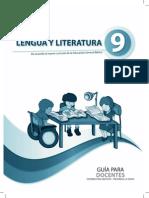 Guia de Docente Literatura 9no