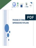 Programa de Formacion de Emprendedores Populares